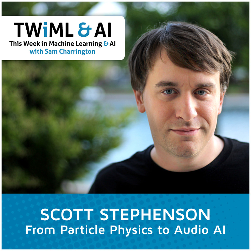 Photo of Scott Stephenson of Deepgram for This Week in Machine Learning & AI Interview