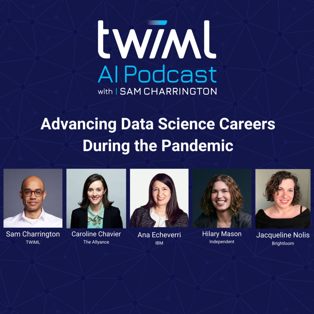 Banner: Advancing Data Science Careers During the Pandemic