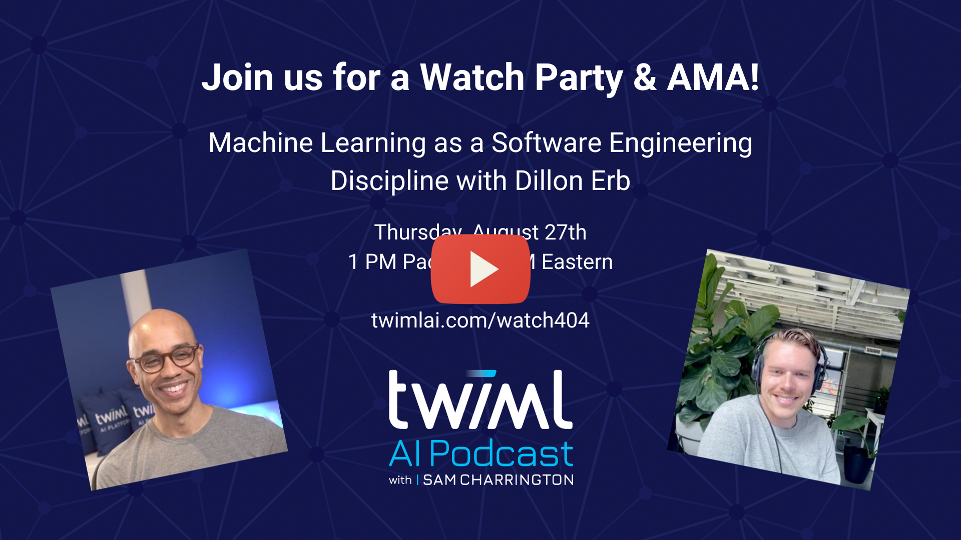 Watch Party & AMA with Dillon Erb of Paperspace