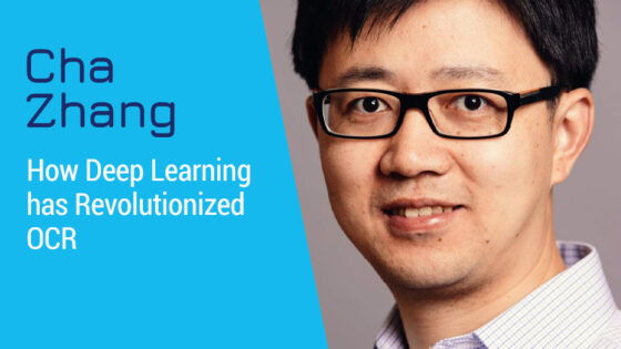 Episode Cover: How Deep Learning has Revolutionized OCR with Cha Zhang