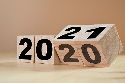 2020 numbers changing to 2021