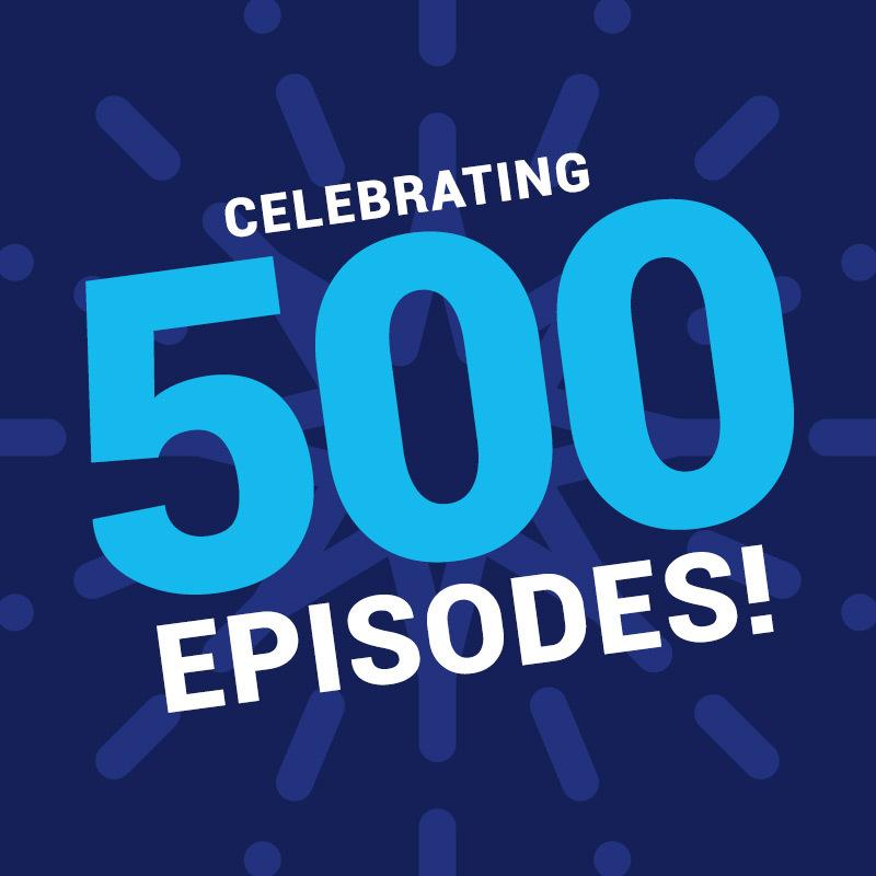 Banner: Celebrating 500 TWIML Episodes